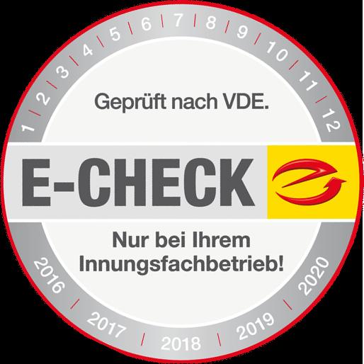 Machen Sie den E-Check bei Sawall-Elektrotechnik